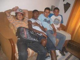 Rui, Romilton, Cristiano e Ricardo