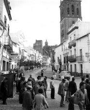 Calle San Pedro años 50