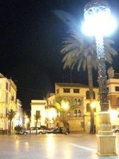 Plaza San Fernando noche