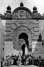 Arco del Siglo XVIII en Puerta de Sevilla