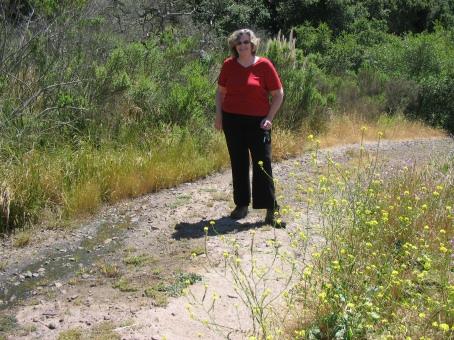 Judy in Chumash Park
