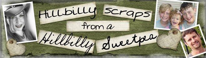 hillbilly scraps from a hillbilly sweetpea