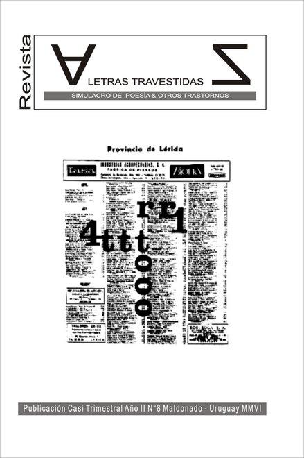 revista letras travestidas nº 8