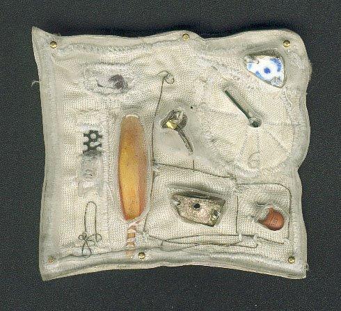 P-1, silver, textil, plastic, fotos