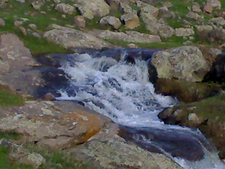 Прхладная речка с горы Арагц