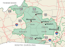 NC's 10th Congressional District