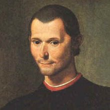 Niccolò Machiavelli.