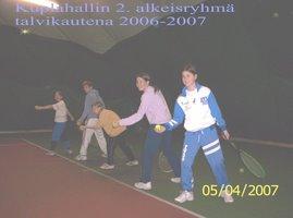 Tervetuloa TU-38 tennikseen Hervannan, Kaupin, Nokian ja Pirkkalan tenniskentille