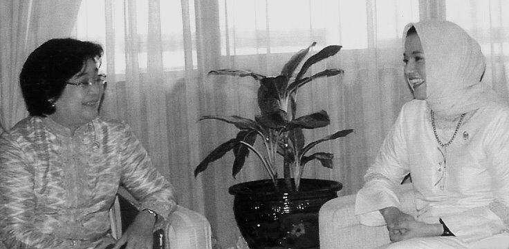 Marissa Haque dan BKKBN