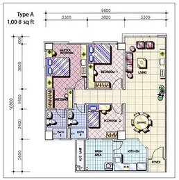 Apartment Layout Type A