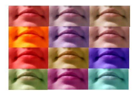 colores de bocas