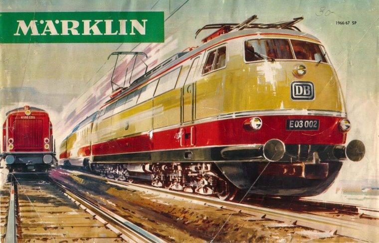 La E 03 de Märklin N° 3053