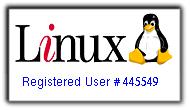 Usuaria Registrada de Linux