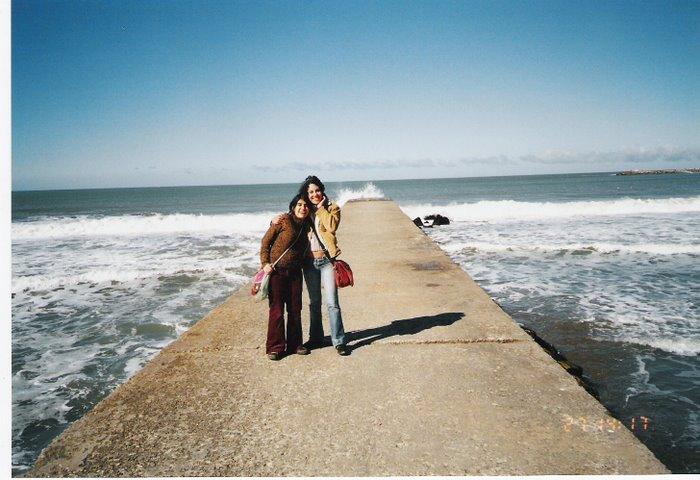 Laura y Prima Ann en Mar del Plata