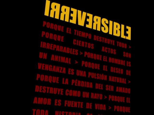 Irreversible...