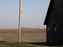 Shot of Windfarm Beginings, Jefferson, IA '07