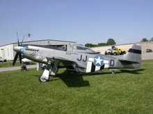 P-51 from airshow, ICAP,'06
