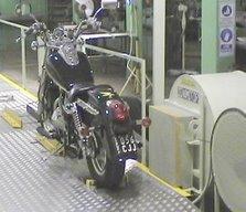 Dinamómetro para 4 Motocicletas