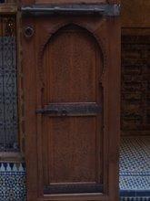 restored door - cedar