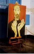 """óleo""""Las manos de Fidel"""""""