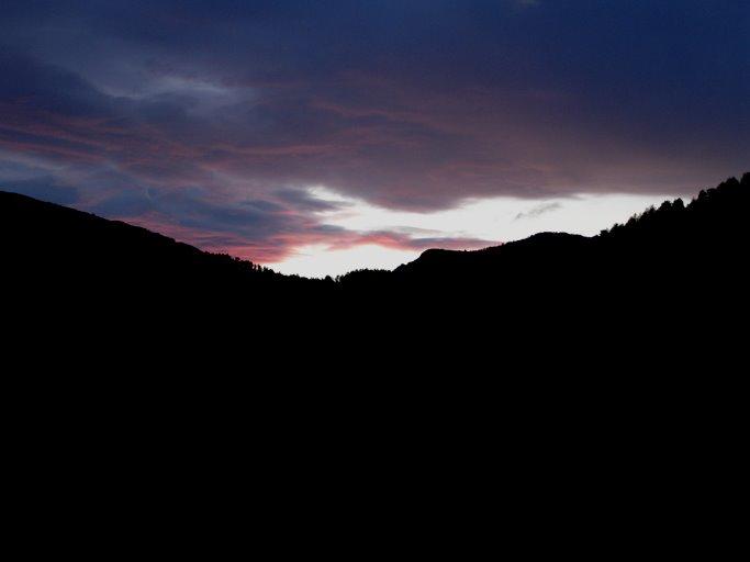 La noche cae sobre el Valle de Echo