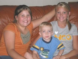 Katie, Ashley and Levi