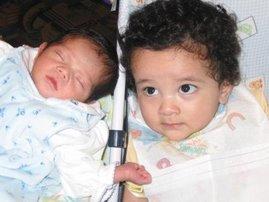 Ahren and Peri Brynn