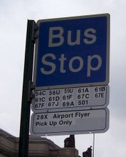 Port Authority Bus Stop