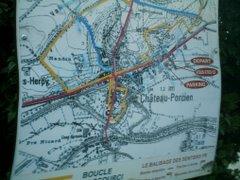 Mapa de Chateau Porcien (RF)