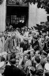 Eva Perón en Berisso - 1946