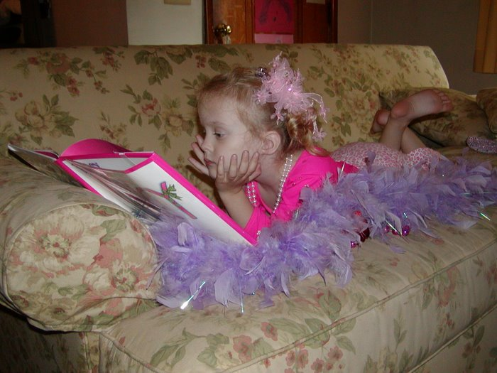 Reading time for the princess