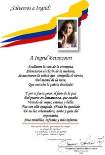 A Ingrid Betancourt