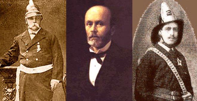 E. Riquelme y C. Guzmán, Heroes de Mar y Tierra