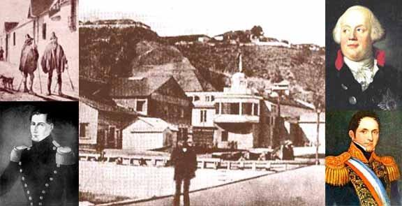 La Guardia Nacional en 1831 y los Zapadores Bomberos de 1840 en Valparaíso