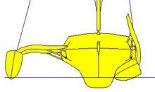 Folding trimaran