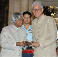 BC Roy Award from President APJ Abul Kalam