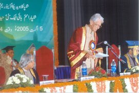 Presidential Convocation Address at MANUU