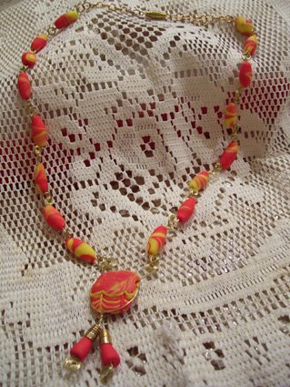 """Collana """"Perle e spirali"""""""