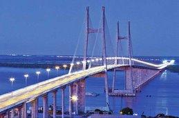 Con obras de infraestructura para un nuevo milenio: El puente Coronda Diamante.