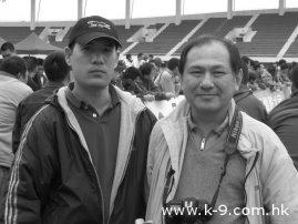 06年國內狼狗展遇上台灣的前輩