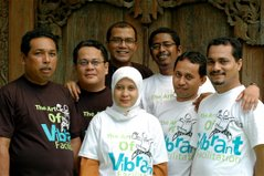 FROM ACEH WITH VIBRANT IX IN BALI