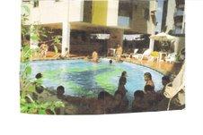 Foto das piscinas