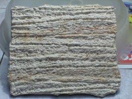 Reproducción de estrato sedimentario