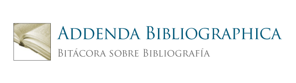 Addenda Bibliographica