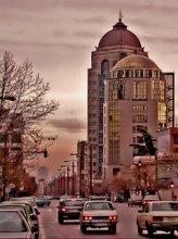 Tehran at dusk