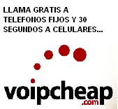 Llama Gratis con Voipcheap