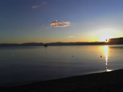 Tahoe Sunset October 7 2006