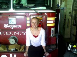 Me and the FDNY May 2007