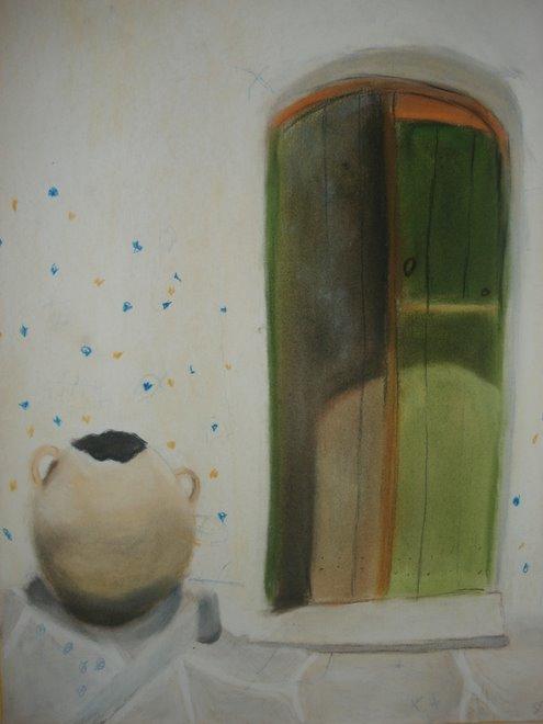 Porte verte à la cruche  (SD)