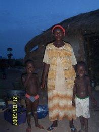 Twins and Asama (Mom)